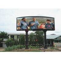 China Full Color P10 16 bit Ture Color 1R1G1B led screen / Curved LED Display Good Performance wholesale