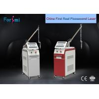 China new pulse width 4-6 ns energy 1500 mj q-switched nd yag laser tattoo removal process wholesale