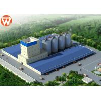 China Capacity 20T/H Animal Feed Production Line With Raw Materials Silo on sale