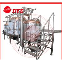 China 2000L Craft Industrial Beer Making Machine Mirror Polish Inner Surface CE wholesale