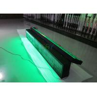 China Energy - saving Message Double Sided Green scrolling led sign on the Highway Traffic wholesale