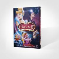 China wholesale Cinderella III: A Twist in time disney dvd movies with slip cover case wholesale