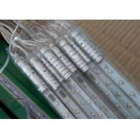 China Rain Drop LED Meteor Lights EU / UK Plug 100 - 240v 10 Tubes 80cm Multicolor / Red wholesale