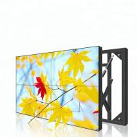 China Flat Lcd Video Wall 55 Inch 3.5mm 3*3 1080P 4k Resolution Ultra Slim wholesale
