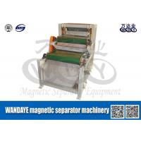 China Double Layer Conveyor Belt Magnetic Separator , Magnetic Roll Separator wholesale