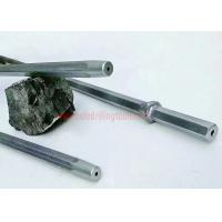 China Tungsten Carbide Rock Drilling Tools , Tapered Integral Mining Drill Rods wholesale
