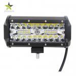 China Durable 3 Row Led Light Bar , Triple Led Light Bar 6000 K Color Temperature wholesale