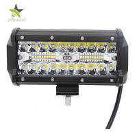 China Durable 3 Row Led Light Bar , Triple Led Light Bar 6000 K Color Temperature wholesale