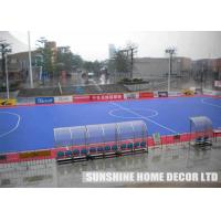 China Customizable Outdoor Sport Court Surface DIN V 18032-2 , basketball court surface wholesale