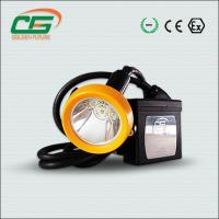 China Led Rechargeable Mining Helmet Lights 15000lux Waterproof IP65 wholesale
