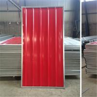 Buy cheap Blue White Red Color Steel Temporary Hoarding Panels 2.0m * 2.1m For Australia from wholesalers