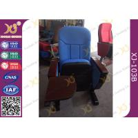China Movable Type Commercial Furniture Auditorium Theater Seating / Church Hall Chairs wholesale