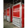 China VFC Control Building Construction Hoist Elevator With Galvanized Car Rack Pinion wholesale