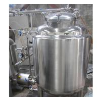 China 2000L Industrial Stainless Steel Hot Water Tank 100MM Insulation Thickness wholesale