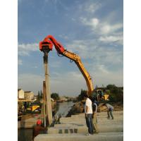 China TYSIM VS400 Excavator Mounted Pile Driver / Pile Driving Hammer 2.15t wholesale