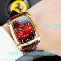 Rolex Oyster Perpetual Rose Gold Bezel Red Dial Men's Watch Rolex Cheapest Price