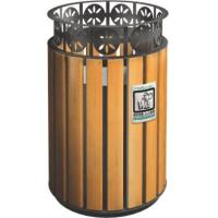 China KQ60280K 32 Gallon 13 Gallon Trash Can Stainless Steel For Public , CE Certification wholesale