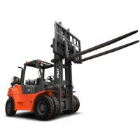 Buy cheap 7 Ton LPG Gasoline Forklift Truck With LED Lights 600mm Load Centre from wholesalers