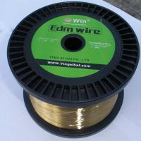 China 0.30 EDM Brass Wire For Sodick & Fanuc & Charmilles & Mitsubishi Machines wholesale