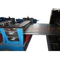 China Full Automatic Steel Silo Roll Forming Machine 180KW 10T Hydraulic Decoiler wholesale