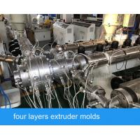 China Hot Water Cold Water Pipe Ppr PE Pipe Production Line For Diameter 16-63mm wholesale