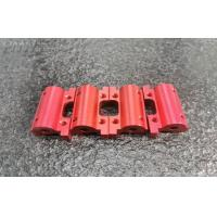 China Precision machined aluminum parts 6061 with colorful anodizing finish wholesale