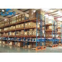 China Metal Industrial Storage Rack For Warehouse Storage Solutions Powder Coated Finishing wholesale