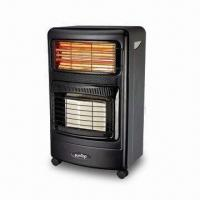 China Gas Mobile Heater with 3-piece Quartz Tubes and High Thermal Efficiency on sale