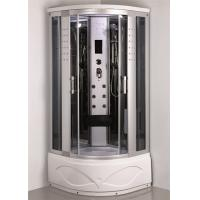 China Comtemporary Steam Room Shower Combo With Whirlpool Tub ABS Tray Material wholesale