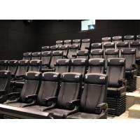 China Customized Environmental 4D Cinema Equipment / Electric 4D Motion Seats wholesale