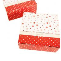 China Christmas Cardboard Boxes With Lids , Recycled Paper Folding Gift Box on sale