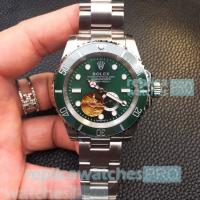 Buy cheap Rolex Submariner Stainless Steel Jubilee Band Green Dial Black Bezel Men's Rolex from wholesalers
