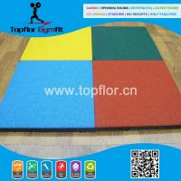 China Cheap Rubber flooring for outdoor playground basketball courts on sale