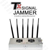 China 6 Channel Wireless Signal Jammer Multi Functional NFC Protection Small Size on sale