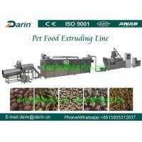 China Dog Animal Pet Food Extruder Production Machine for corn , soya , bone meal wholesale