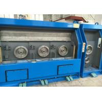 China AC Motor Individual Drives Copper Wire Drawing Machine Water Cooled Design wholesale