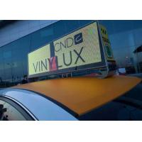 China P 5mm Full Color Taxi LED Display Wireless 3G System 960mm x 320mm wholesale