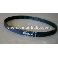 China MXL Mining and Metallurgy Rubber Toothed Industrial Timing Belts with Heat Resistant wholesale