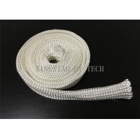 Quality Electrical Insulation High Silica Fabric , Heat Resistant Sleeving For Cables for sale