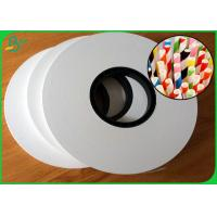 Buy cheap 60gsm 120gsm Large Jumbo Roll FDA Craft Paper For Drinking Straws from wholesalers