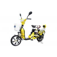 China 350W 6 T Adult Electric Bike with Pedals / Intelligent Electric Powered Bicycle wholesale