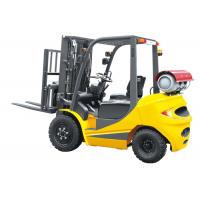 Buy cheap Speed 20km / H Dual Fuel Forklift 3.5 Ton , LPG Forklift Truck With Clear Visibility from wholesalers