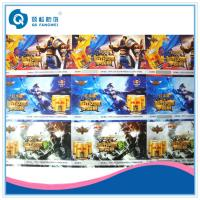 China Tear Proof Water Transfer Printed Self Adhesive Labels For Frozen Food wholesale