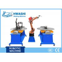 Buy cheap Motor Cycle Frame Automatic Welding Robot , Metal Frame Industrial Robot MIG Welding Machine from wholesalers