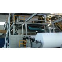 China Single S Type PP Spunbond Nonwoven Making Machine For Non Woven Bags wholesale