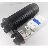 Buy cheap Dome mechanical fiber optic splice closure. 1 big round (dual hole) port+4 small from wholesalers