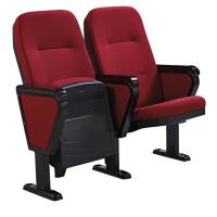 China Foldable Auditorium / Theater Room Chairs With Writing Pad Board Tablet wholesale