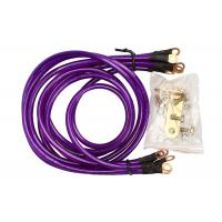 Buy cheap Universal 5-Point Grounding Wire Kit Cable (Purple) from wholesalers