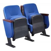 China 86CM Low Back Foldable Armrest Auditorium Theater Seating With Book Box wholesale