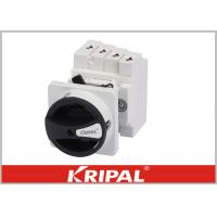 Buy cheap ASTMD4459 UL-94VO IP66 Solar PV DC Rotary Isolator Switch 1000v 32A from wholesalers